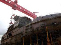中国第一艘自主建造极地科考破冰船