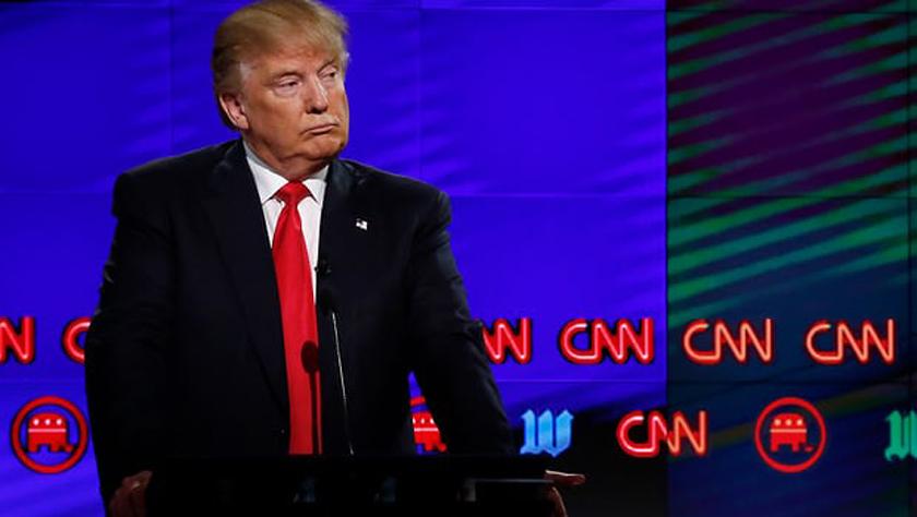 """特朗普将媒体视为""""全民公敌"""" 350家新闻媒体发起抗议"""