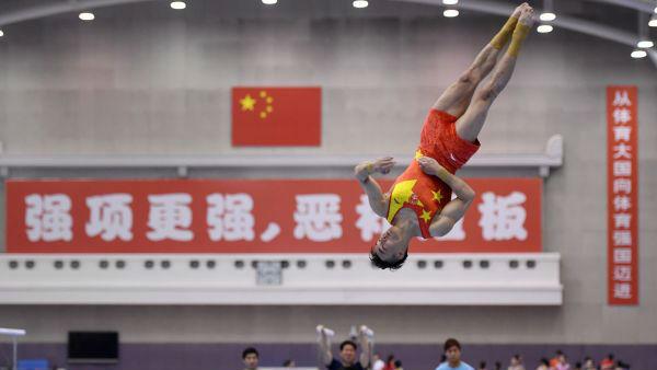 中国体操男队期待亚运复兴 首要目标重夺男团金牌