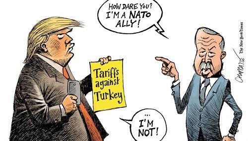 埃尔多安:我是北约盟友!特朗普:我不是!
