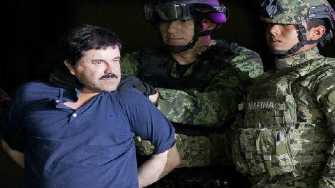 """墨西哥大毒枭古斯曼又添""""新罪名"""":造成纽约大堵车"""