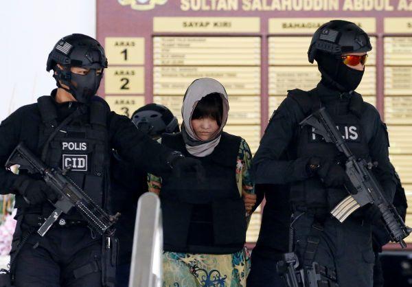 美媒:金正男案进入辩护阶段 两女嫌犯或面临死刑