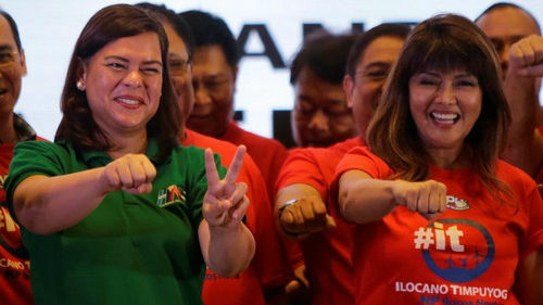 新媒:杜特尔特女儿可能接任菲总统?
