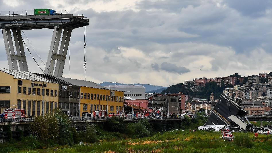 """热那亚大桥垮塌拉响警报 840座法国桥梁有""""坍塌风险"""""""