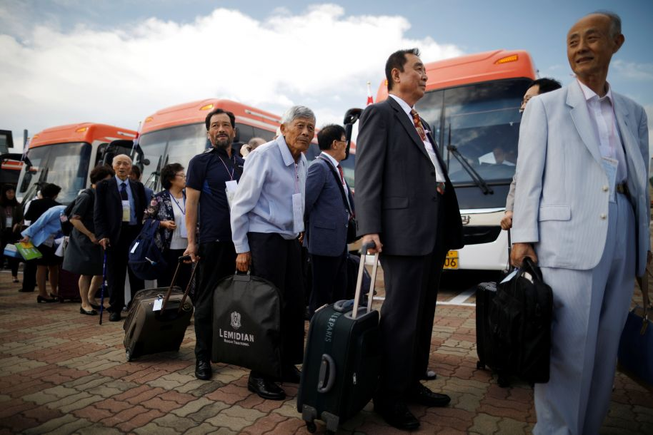 朝韩第21次离散家属会面活动在朝鲜金刚山举行