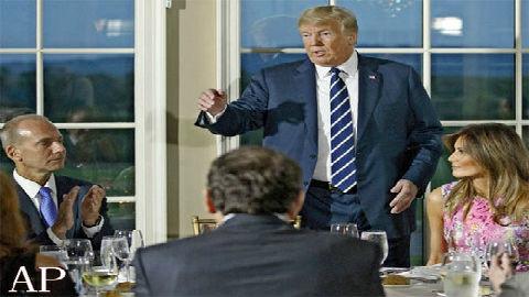 """日媒关注各国领导人暑假""""打开方式"""":特朗普无法安心度假"""