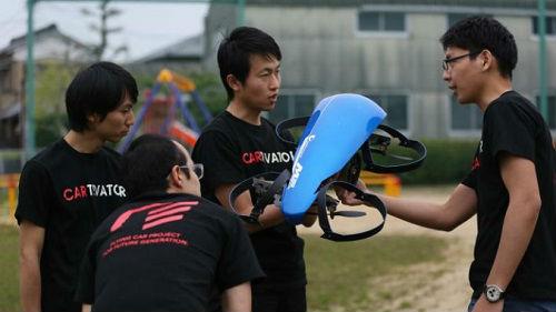 日媒称日本开启空中飞车计划:介于无人机和直升机之间