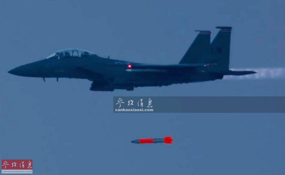 对俄威慑!美军曝最新B61核弹空投测试