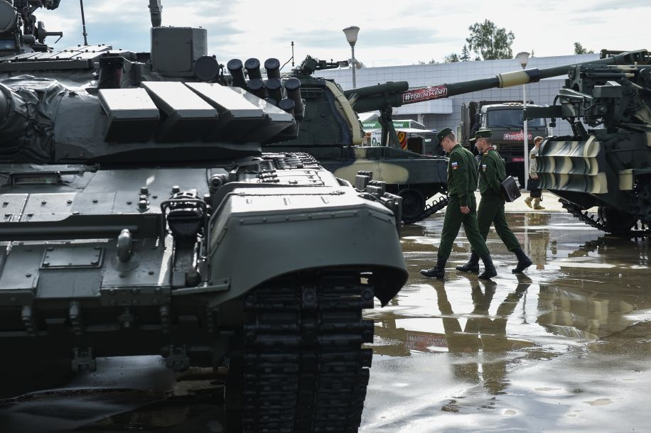 """""""军队-2018""""国际军事技术论坛在俄罗斯开幕"""