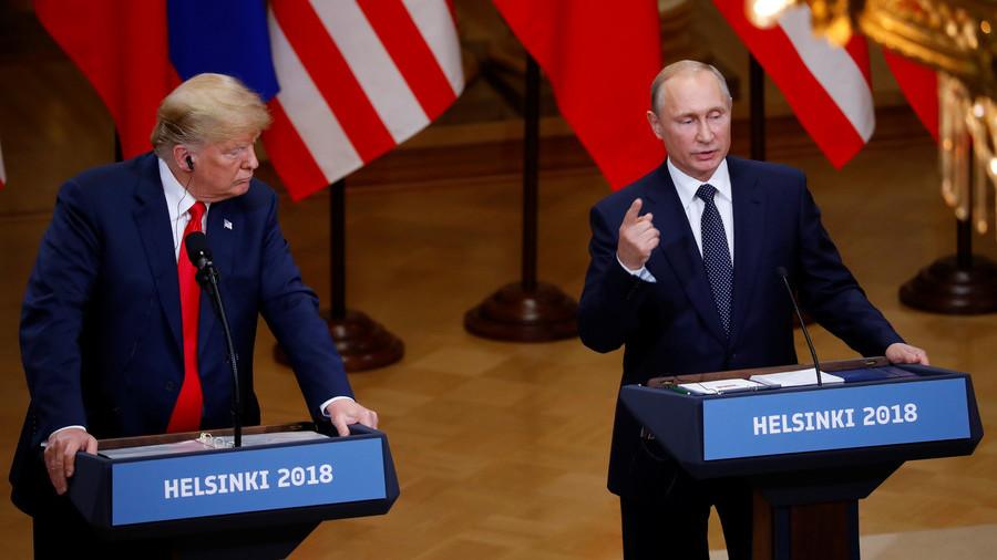 """普京:对俄制裁""""毫无意义"""" 与特朗普会面很有作用"""