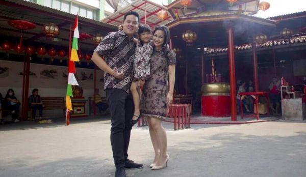 图说1 印尼人一家