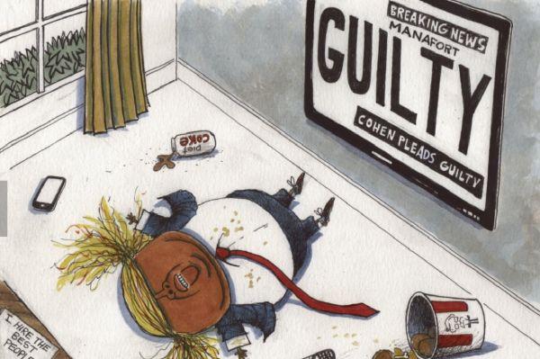 特朗普遭受双重重击