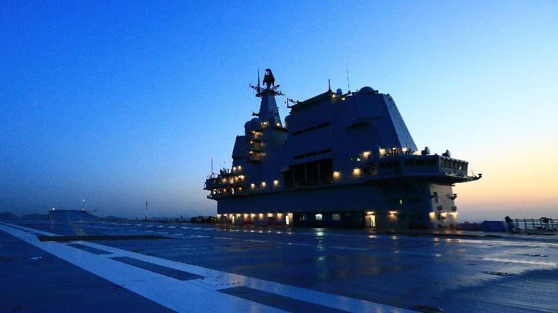 境外媒体:中国国产航母第二次海试 主要测试各系统间联动