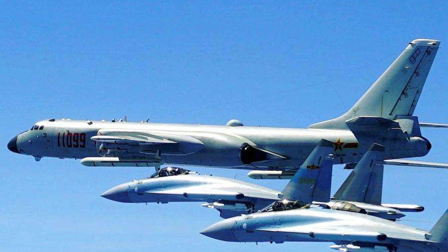 外媒称中国轰炸机扩大海上作战区域:展示打击美军能力