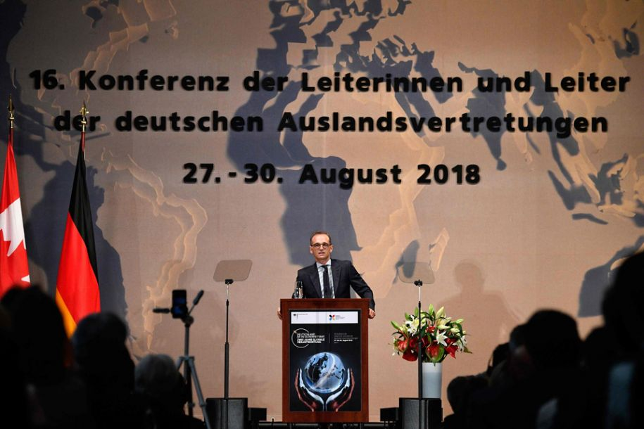 """德国外长提出以""""多边主义者联盟""""制衡美国单边主义"""