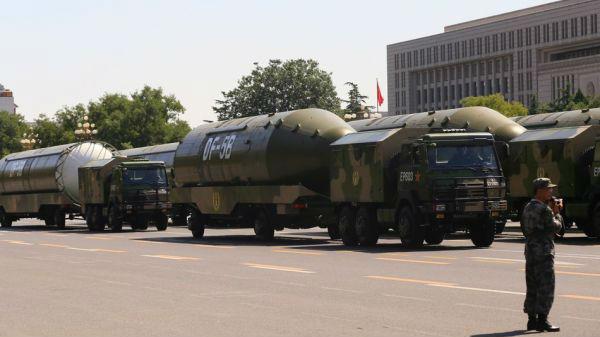 美媒关注中国核力量发展 称中国空军被赋予核战使命