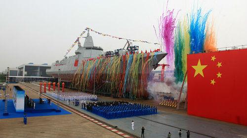 俄媒关注中国055型驱逐舰海试:将组成亚洲最大水面舰队