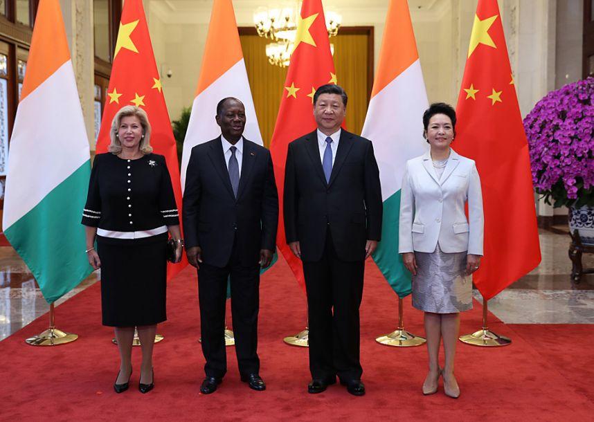 习近平同科特迪瓦总统瓦塔拉举行会谈