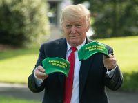 """特朗普将出席竞选集会 展示绿色帽子""""让农民再次伟大"""""""