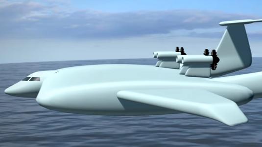 美媒:俄军地效飞行器将配备导弹 在北海及巴伦支海巡逻