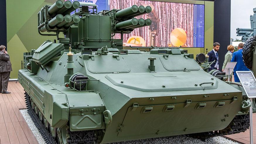 俄新型近程防空系统首秀:特别适合复杂电磁环境下作战