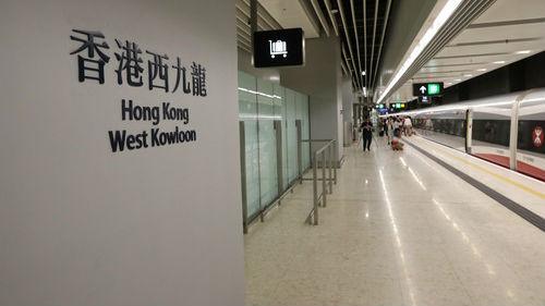 """新媒:""""香港西九龙""""站现身""""铁路12306""""购票APP"""