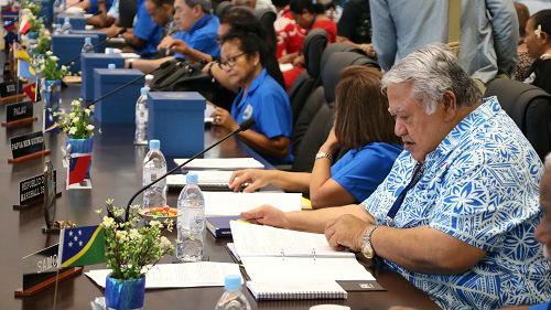 瑙鲁不认中国外交护照引愤怒 南太岛国峰会凸显中国影响力