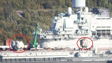 锅炉运上甲板!俄唯一航母开始全面翻修