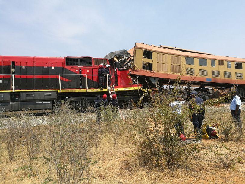 安哥拉列车相撞事故中有两名中国公民遇难