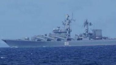 """军情锐评:安倍访俄想谈领土问题?俄28艘军舰""""迎候""""或是答复"""