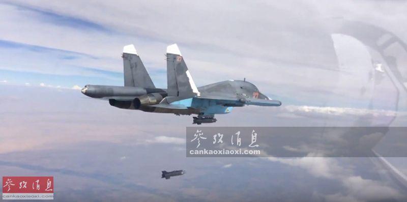 不惧美动武威胁!俄军战机空袭伊德利卜