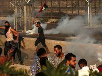 巴勒斯坦民眾抗議美切斷援助