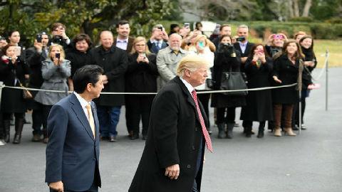 """特朗普暗示贸易战下个目标是日本:""""好关系很快会结束"""""""