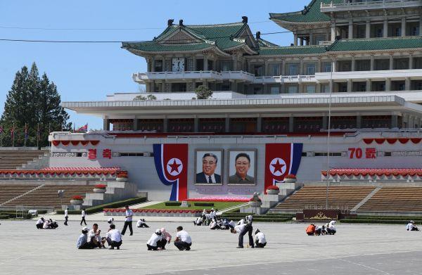 外媒:朝鲜70周年国庆吸引世界目光