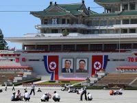 朝鲜人民喜迎国庆