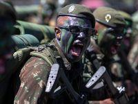 巴西举行阅兵活动庆祝独立日