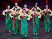 朝鲜举行国庆文艺演出
