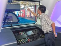 """中国""""未来地铁车""""亮相:集无人驾驶等多种黑科技"""