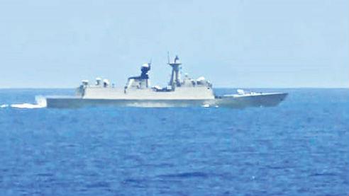 海外媒体:日本准航母南海航行 中国军舰抵近监视