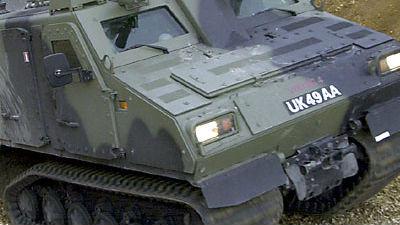 准备在冰天雪地对抗俄军?美军求购北极机动战车
