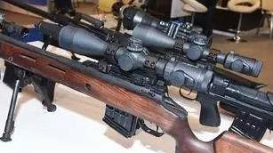 """""""吃鸡""""吃到撑!俄展出12.7毫米消音重狙 300米击穿""""3级甲"""""""