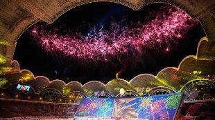 锐参考 | 朝鲜国庆70周年庆祝现场,奏响了一首中国歌!