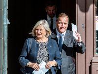 瑞典举行议会选举:现任首相斯特凡·勒文投票
