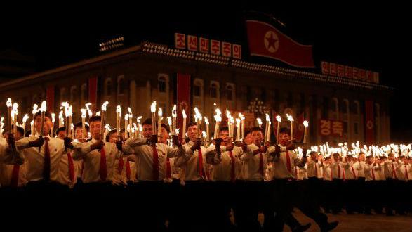 """特朗普赞朝鲜阅兵不秀核导弹:""""我们将证明所有人都错了"""""""