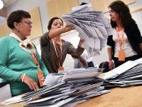 瑞典议会选举初步结果揭晓 两大政党联盟难分上下