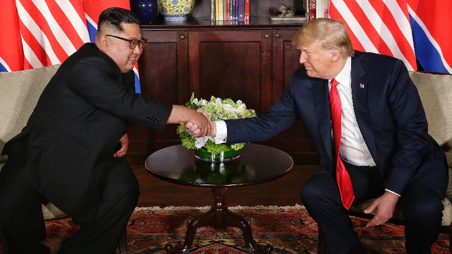 """金正恩提议再举行""""特金会"""" 博尔顿称美方等待朝弃核行动"""