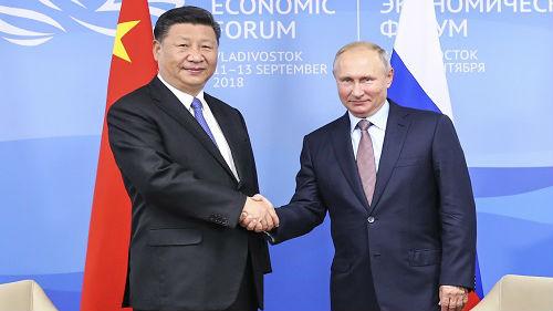 """海外媒体关注""""习普会"""":体现中俄关系高水平"""