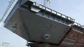"""可抵御中国""""航母杀手""""?美新航母""""肯尼迪""""建造过半"""