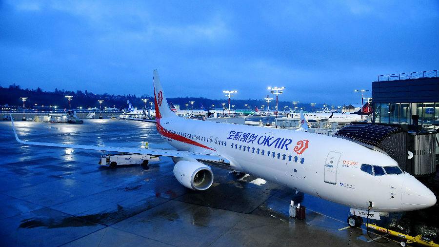 美媒:波音称中国未来20年要买7690架新飞机 价值1.2万亿美元