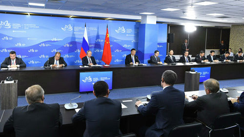 外媒关注:中俄元首同声谴责保护主义